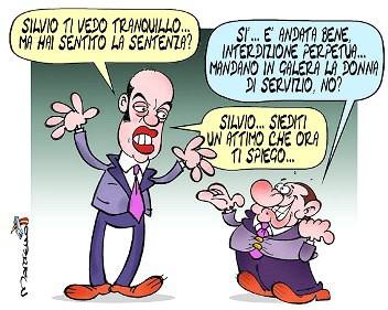 Silvio il Cavaliere,Silvio Berlusconi,interdizione,legittima suspicione,giudice