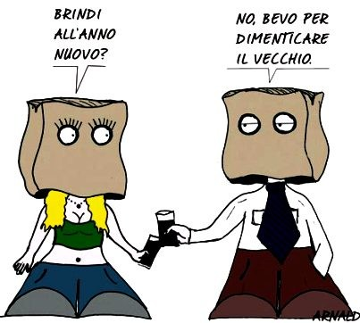 Capodanno A Come Mafalda Satirele
